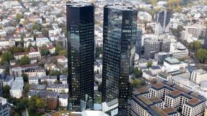 Dämpfer für die Deutsche Bank