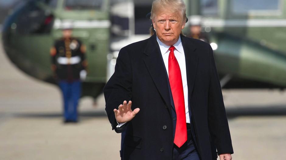 Amerikas Präsident Donald Trump