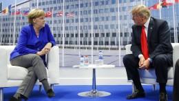 Gefangener Russlands? Das sieht die Kanzlerin anders