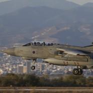 Mit Tornado-GR4-Kampfjets greift die britische Luftwaffe IS-Stellungen im Irak an