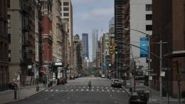 New York steht still