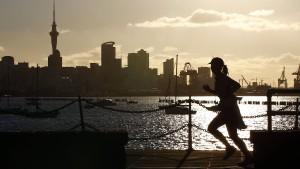 Neuseeländische Stadt Auckland wegen einer Neuinfektion im Lockdown