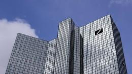 Bestraft die Deutsche Bank die Sparer?
