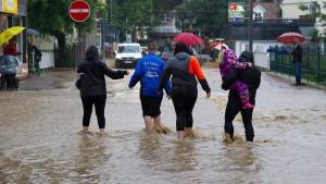 Dieser Juli war einer der regenreichsten Monate seit 1881