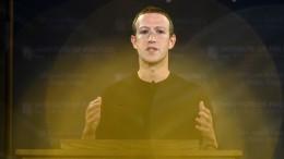 US-Ermittler nehmen Zuckerberg persönlich ins Visier