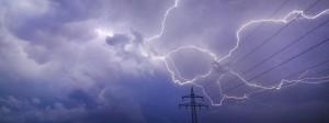 In Niederbayern haben in der Nacht starke Gewitter gewütet. (Archivbald)