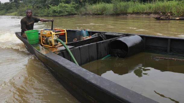 Öldiebe in Nigeria