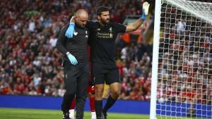 Liverpool gewinnt locker, verliert aber Alisson Becker