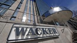 Wacker produziert für Curevac