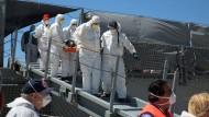 Bundeswehr bringt erstmals Flüchtlinge nach Italien