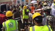 Massenpanik mit hunderten Toten nahe Mekka