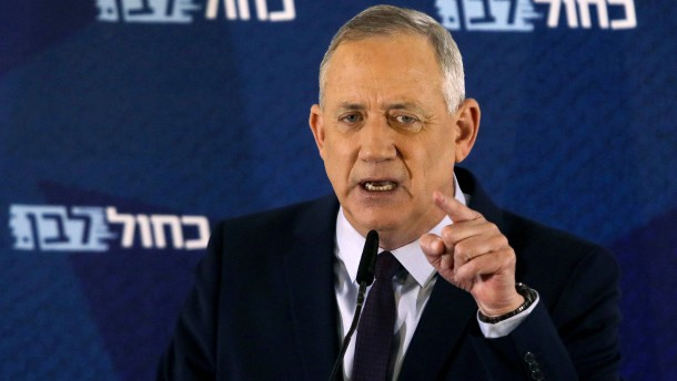 Israels Präsident will Gantz mit Regierungsbildung beauftragen