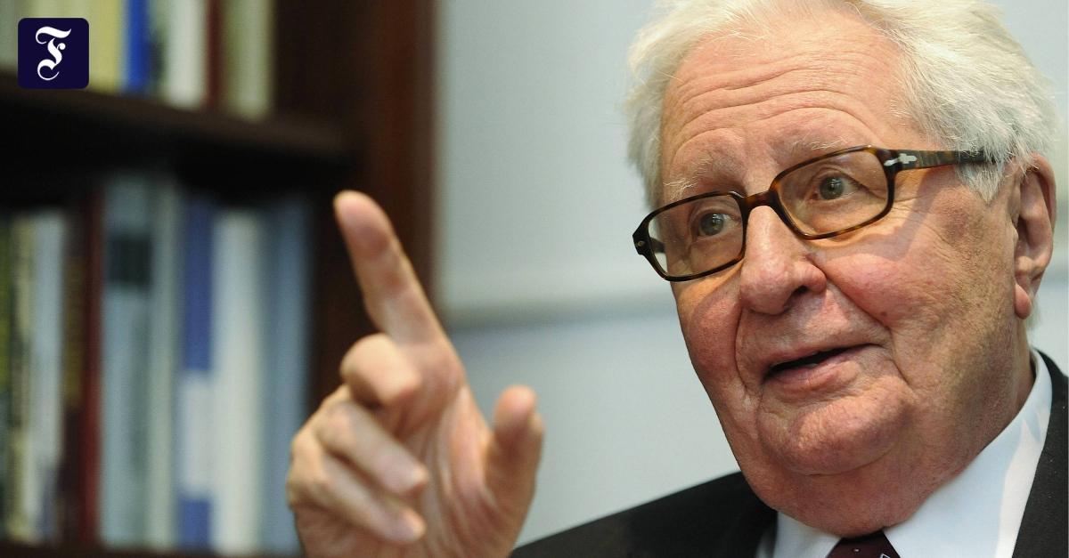 Zum Tode von Hans-Jochen Vogel: Ein großer Sozialdemokrat