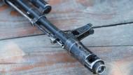 Ein Sturmgewehr aus dem berühmten Hause Kalaschnikow