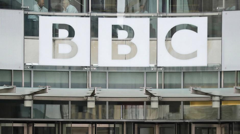 Das BBC-Hauptquartier in London