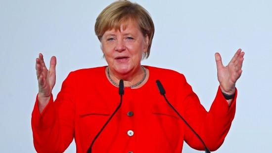 Merkel freut sich über EM-Zuschlag