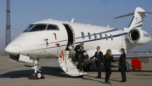 ARD und ZDF fliegen Privat-Jet