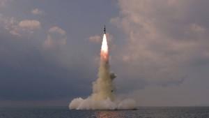 Nordkorea bestätigt Test einer neuen ballistischen Rakete