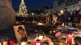 Zahl der Toten von Straßburg steigt auf fünf