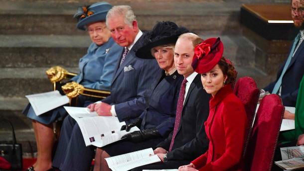 Die britische Monarchie ist schwer beschädigt