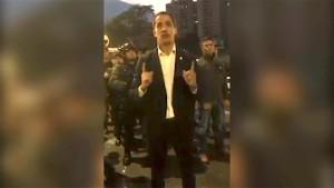 Guaidó bringt Teile der Armee hinter sich