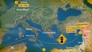 Die letzte Reise der syrischen Chemiewaffen