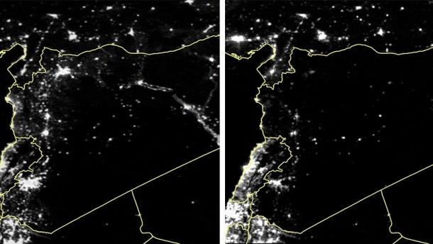 In Syrien gehen die Lichter aus