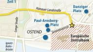 Live-Karte: Das ist der Weg der Demonstranten