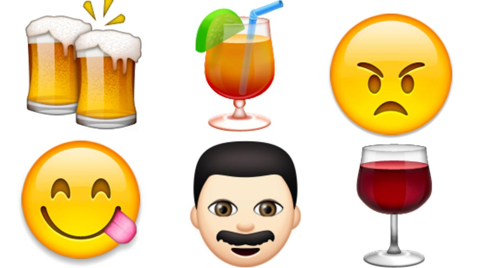 Himmelhochjauchzend und zu Tode betrübt: Mit Emojis lässt sich die ganze emotionale Bandbreite des Alkoholkonsums abbilden.