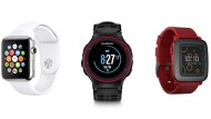 Drei smarte Uhren im Test: Apple Watch, Garmin Forerunner 225 und Pebble Time