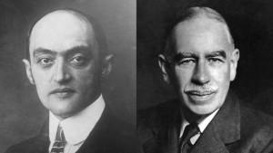 Schumpeter versus Keynes