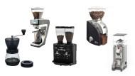 Fünf Kaffeemühlen von Einsteigergerät bis Profimühle