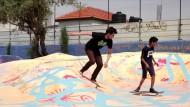 Mit dem Skateboard durchs Westjordanland