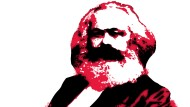 """Vorbild Marx? 45 Prozent der Deutschen sagen, """"dass sozialistische Ideale wertvoll für den gesellschaftlichen Fortschritt sind"""". Büste von Ottmar Hörl"""