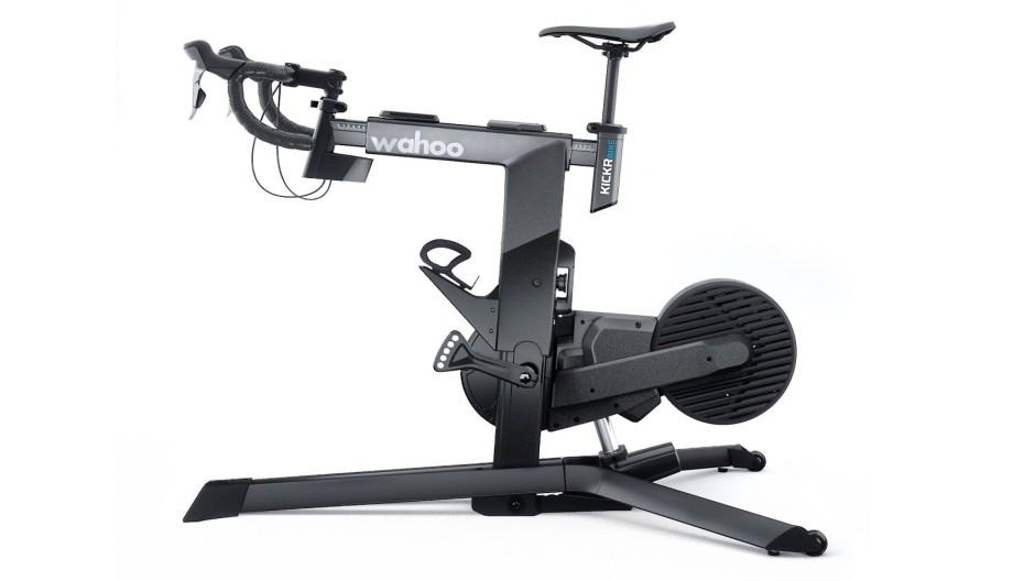 Extravagant: Das Kickr Bike vereint Form mit Funktionalität.