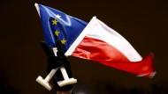 Momentan eine angespannte Beziehung: Die EU und Polen