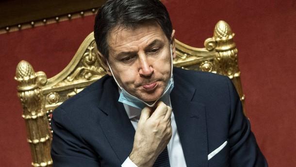 Conte gewinnt Vertrauensfrage im Senat