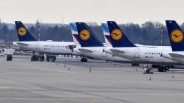95 Prozent der Passagierflüge gestrichen