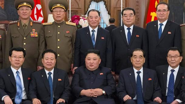 Kim stellt Bedingungen für drittes Treffen mit Trump