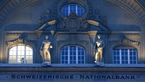 Schweizer Notenbank intervenierte 2015 mit 86 Milliarden Franken
