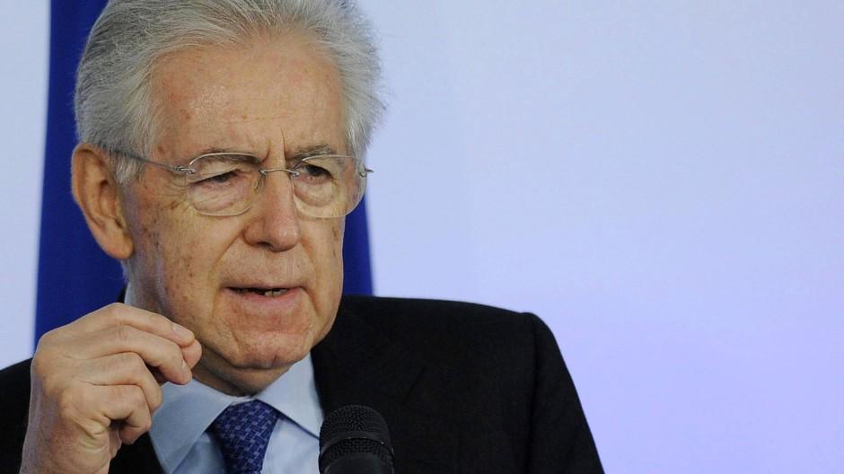 Monti hält sich Kandidatur für zweite Amtszeit offen