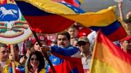 Amerikanische Botschaft in Caracas muss Personal drastisch reduzieren