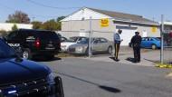 Tatort in Delaware: Der Verdächtige war nach der ersten Schießerei in einem Auto in das Bundesland geflohen, wo es laut Polizei eine zweite Schießerei gab.