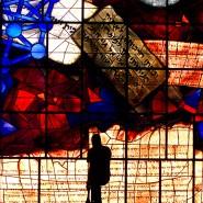 Vision des ewigen Friedens: Tryptichon von Mordechai Ardon in der Israelischen Nationalbibliothek an der Hebrew University