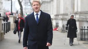Bruder von Boris Johnson tritt als Minister zurück