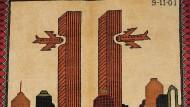 Kriegsteppiche mit 9/11-Motiven aus Afghanistan