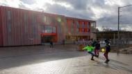 """Lage der Schule entgegen ihrem Namen: Das """"Gymnasium Nord"""" steht im westlichsten Teil von Westhausen."""