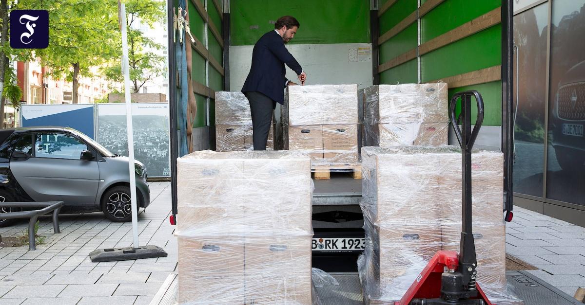 Lastwagen mit Daimler-Klage erreicht Anwälte