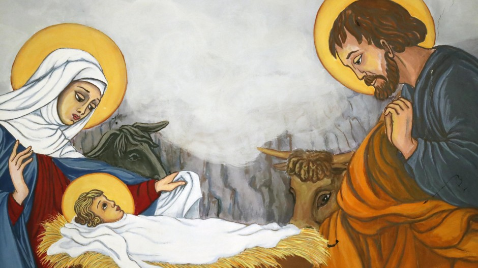 Auch Jesus, Maria und Josef bildeten eine Patchworkfamilie.