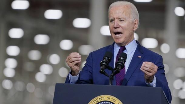 Biden sagt China den Kampf an